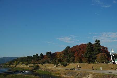 賀茂川と植物園