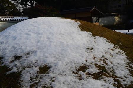 雪の閑院宮邸跡