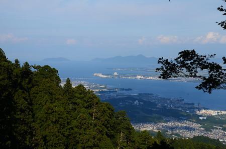 比叡山からの琵琶湖展望