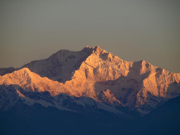 4.タイガーヒルより朝焼けのカンチェンジュンガ主峰