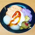 写真: セブン かぼちゃとお芋のパフェ