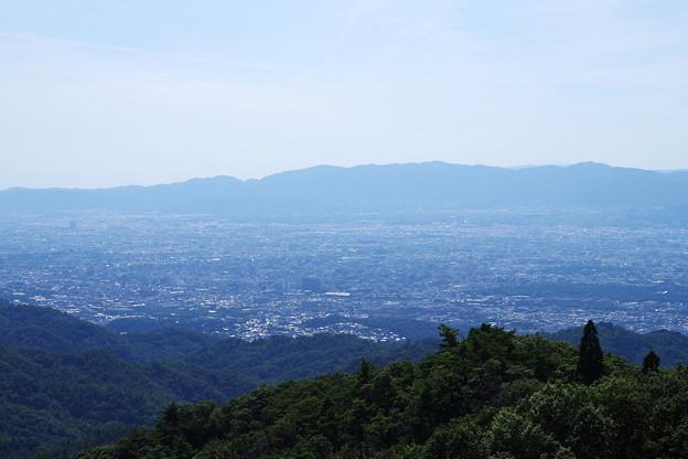 Photos: 京都市を望む