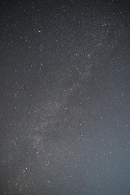 写真: 晩秋の天の川