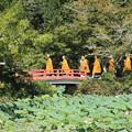 写真: 大覚寺僧侶