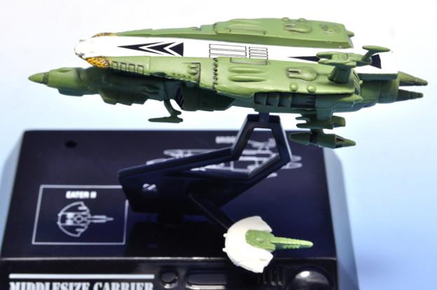 メガハウス_コスモフリートコレクション 宇宙戦艦ヤマト さらば友よ編 高速中型空母ナスカ_008