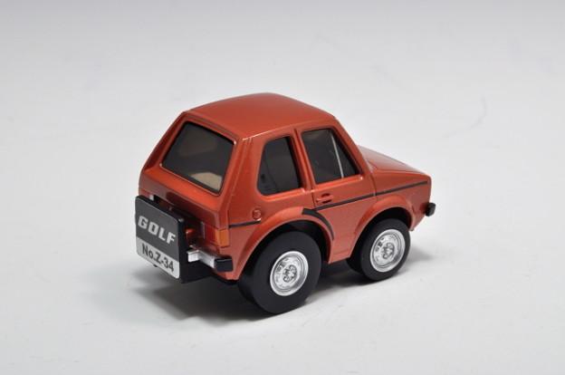 トミーテック_チョロQ zero  No.Z-34b Volkswagen Golf フォルクスワーゲン ゴルフI_002