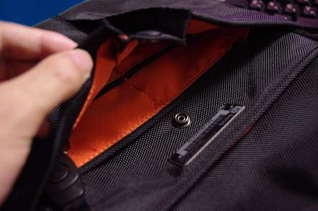 中のポケットのマチ