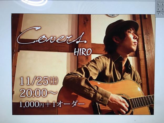 写真: ■2017年11月25日(土)静岡県/掛川市  『  covers  』