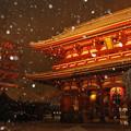 写真: 浅草寺宝蔵門