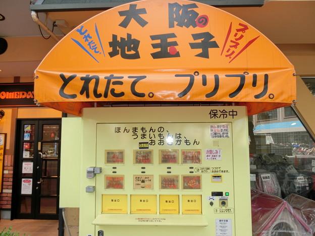 地玉の自動販売機