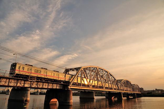 京成線堀切橋3400形