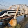 Photos: トラス橋を渡るスカイライナー