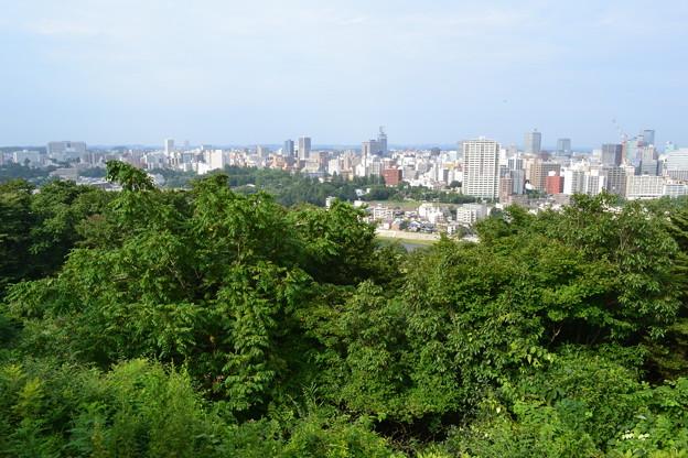 仙台_青葉城址からの眺め