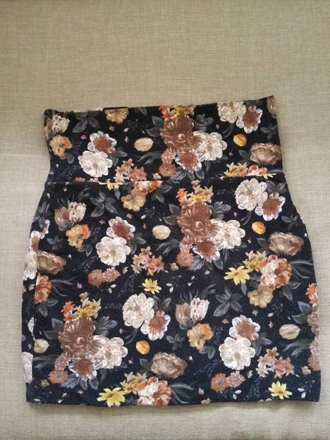 花柄スカート$3 秋冬物です。