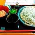 Photos: 蕎麦定食・・・
