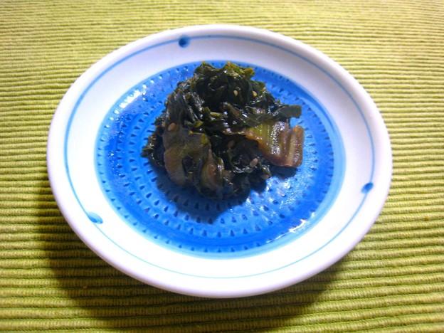 Photos: 高菜の炒め煮…