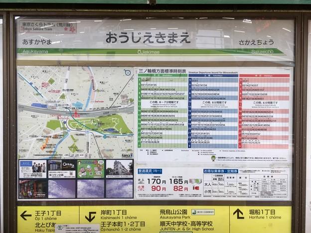 王子駅前停留場 Ojiekimae Sta.