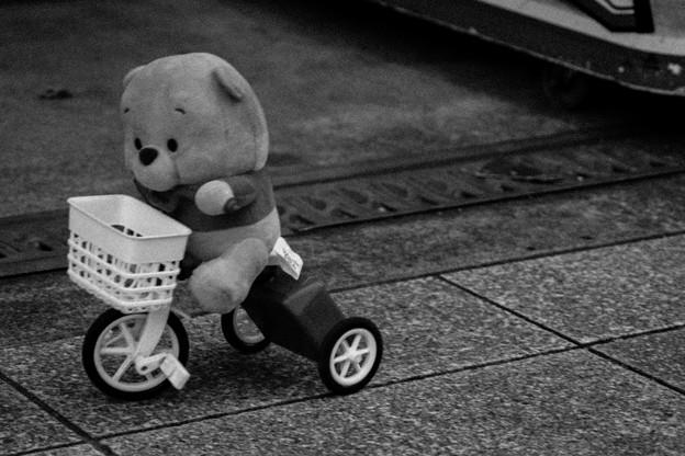 大阪は自転車の街