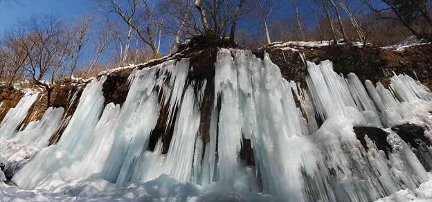 氷を踏み割りドボン