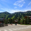 Jackson Hole Mountain Resort入り口
