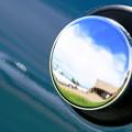 Photos: Fuel Capに映る空♪
