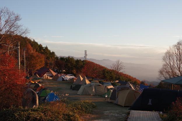天空のキャンプ場