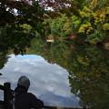 写真: 震生湖