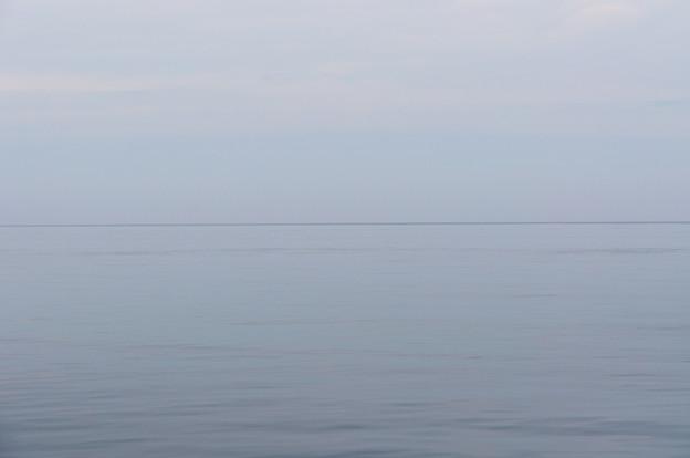 海流の境目@2013北海道旅行最終日