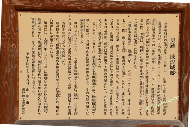 成沢城 史跡