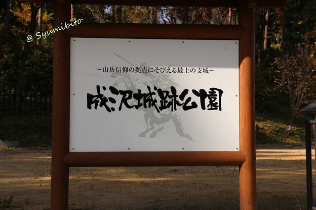 成沢城址公園