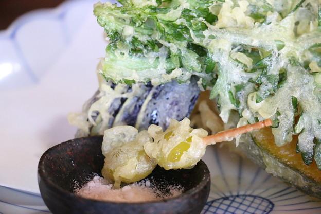 銀杏の天ぷら