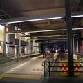 Photos: 早朝の地鉄市電富山駅