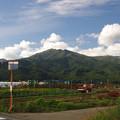 写真: 伊那から権兵衛峠へ向かう道すがら