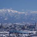 写真: 呉羽山より薬師岳