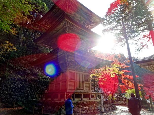 横蔵寺 紅葉2