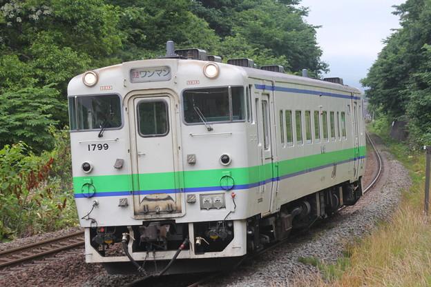キハ40形1700番台キハ40-1799 快速アイリス函館行き