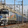 EF510-510+24系客車尾久・札幌車 寝台特急北斗星号