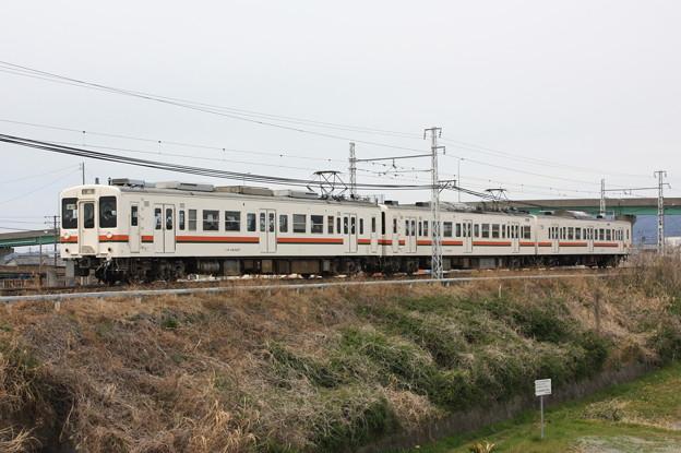 119系5100番台カキM7編成 普通豊橋行き
