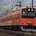 201系トタH7編成 快速東京行き