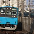 201系ケヨ54編成 快速東京行き