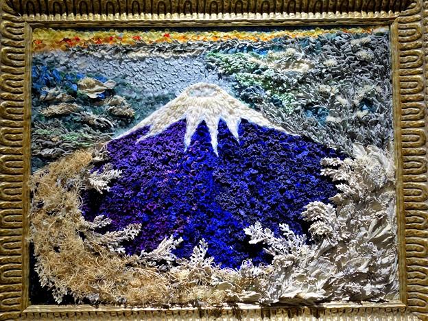 天空の朝富士