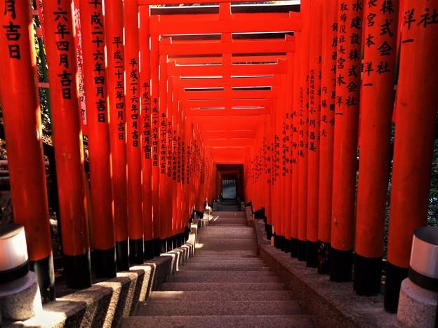 山王稲荷神社の鳥居
