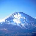 写真: 今日の富士山