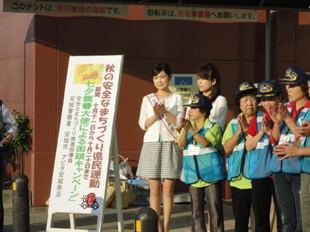 2010.10.12 あきの安全なまちづくり運動 - アピタあんじょうみなみ店 (3)