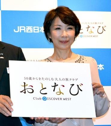 JR西日本「おとなび」の宣伝大使をつとめる伊藤蘭さん