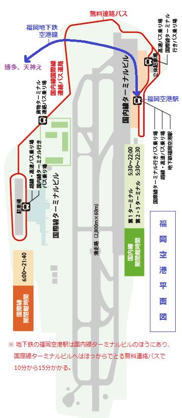 福岡空港平面図(あきひこ)