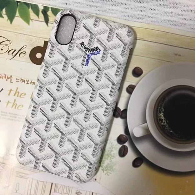 iphone8 ケース ショップゴヤールGOYARDブランド7s人気即納アイフォン8/7プラス携帯カバー男女ハードケース最新お揃いペア