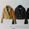 Photos: グレーのPコートも買う!