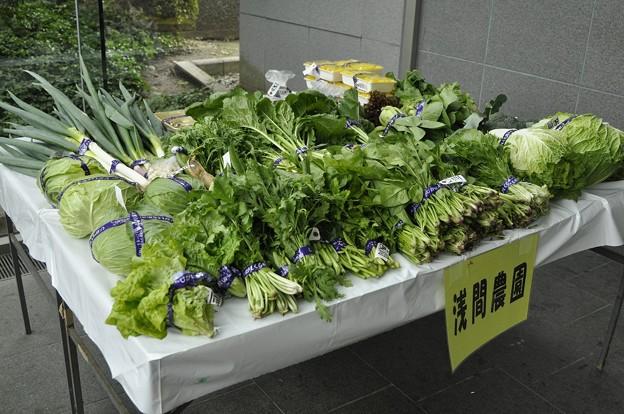 11月8日、農業祭(野菜の出品)?