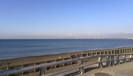 寒いから富士山もきれいに。絵になります